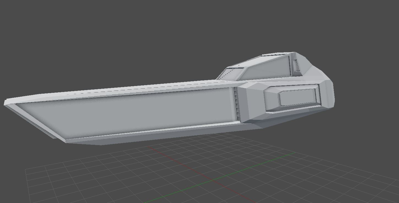Wipeout-like  3D model