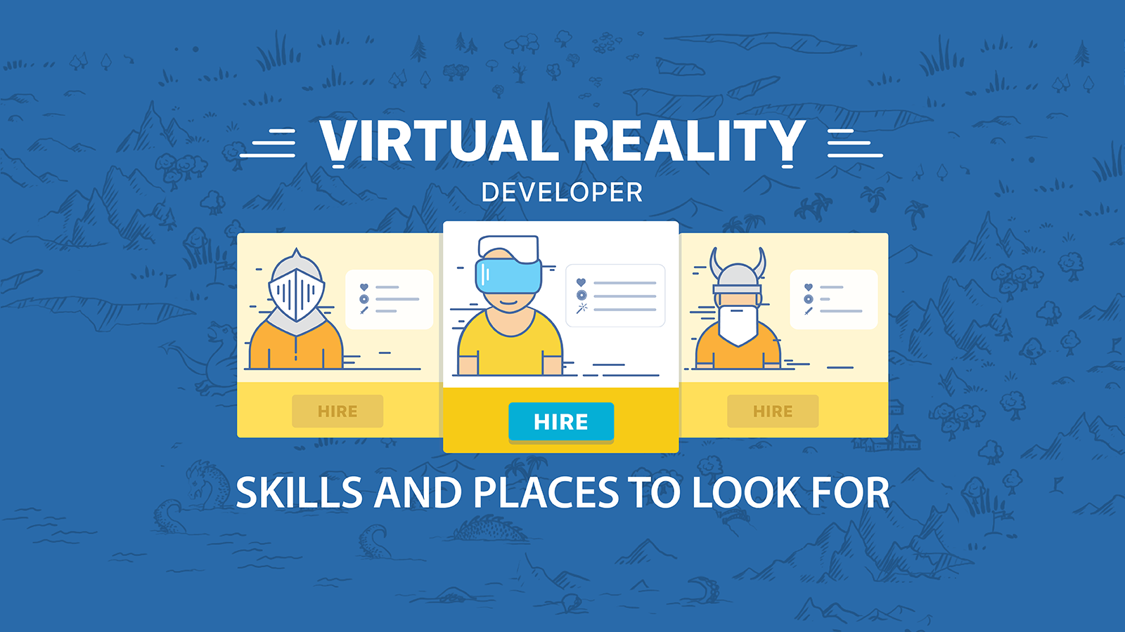 How to hire VR developer: Skills and places to look for