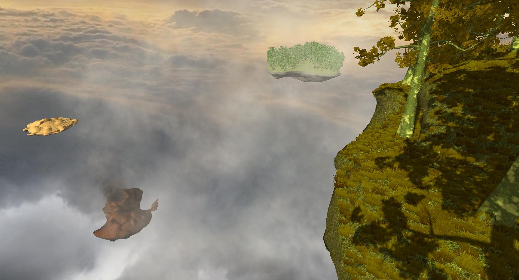 Voxelbased, procedural terrain generation ...