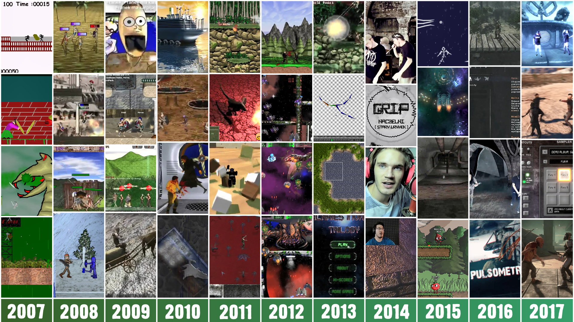 Gamedev journey since 2007