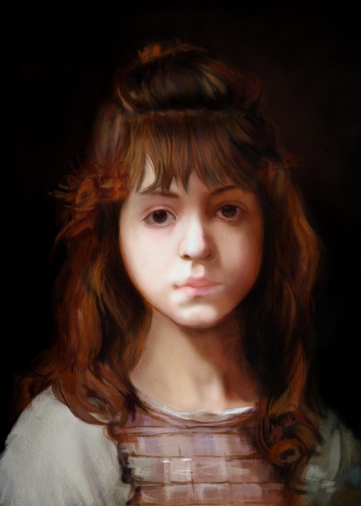 Study from Alexei Harlamoff 'Mignon'