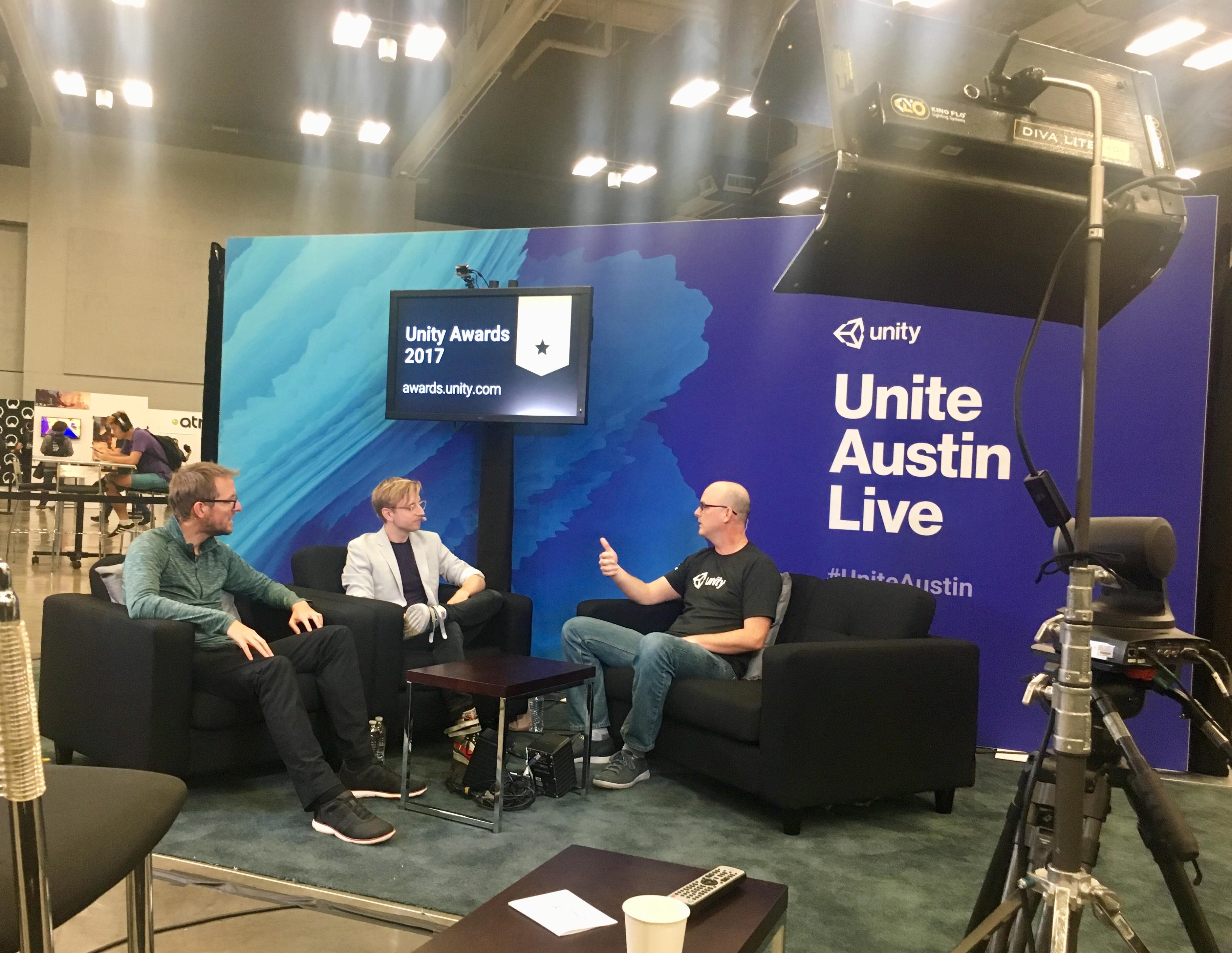 我在Unite Austin:展厅篇
