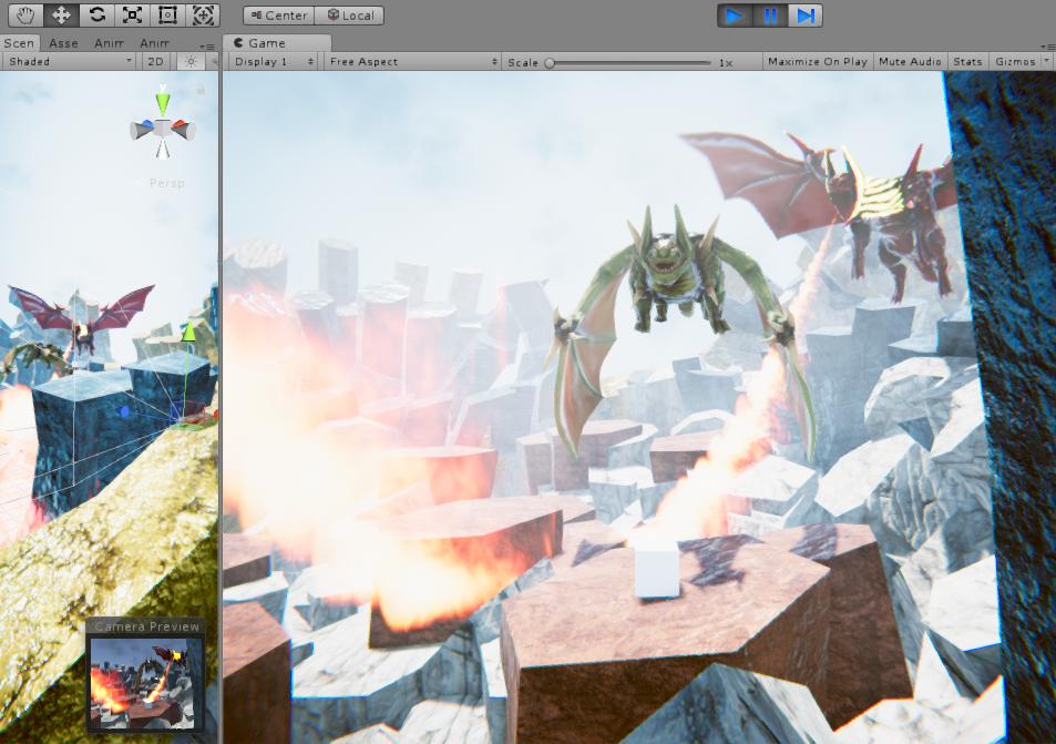 Dragon VR Game