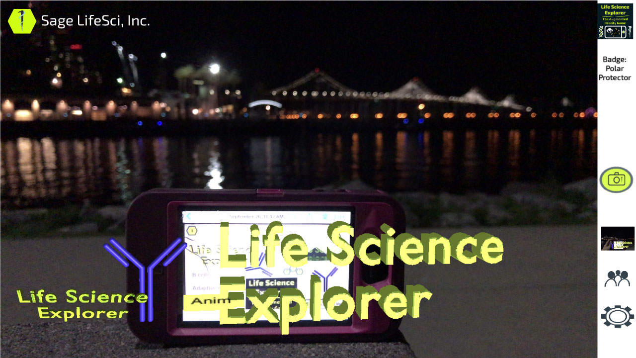 Life Science Explorer - The Augmented Reality Game