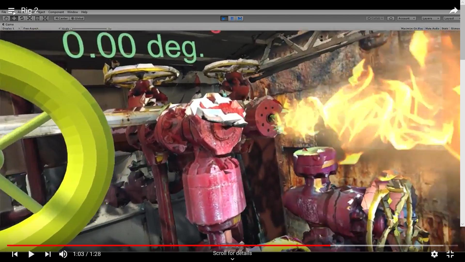 Oil Rig (Virtual Reality)
