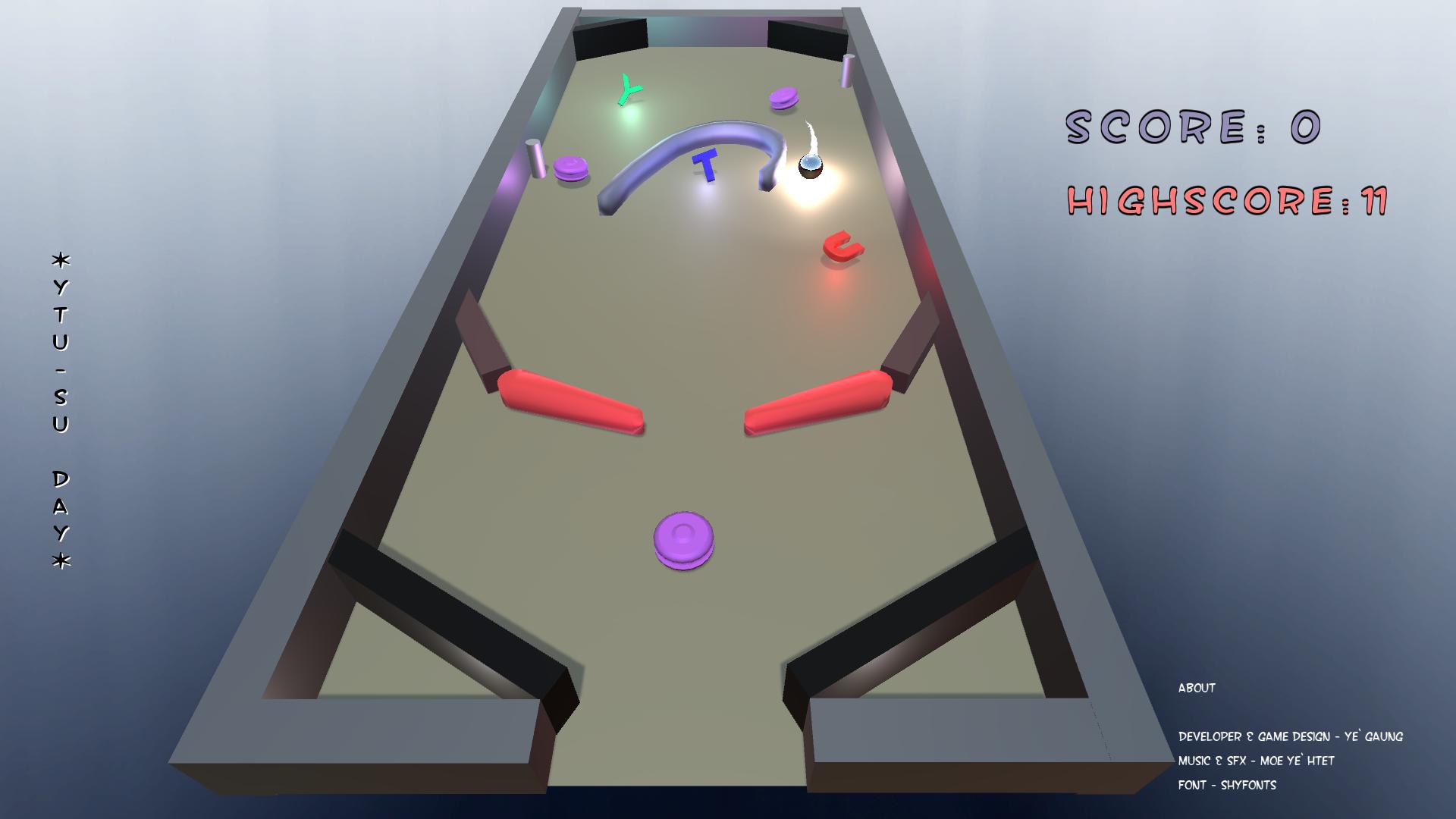 3D Pinball with Ultrasonic Sensors