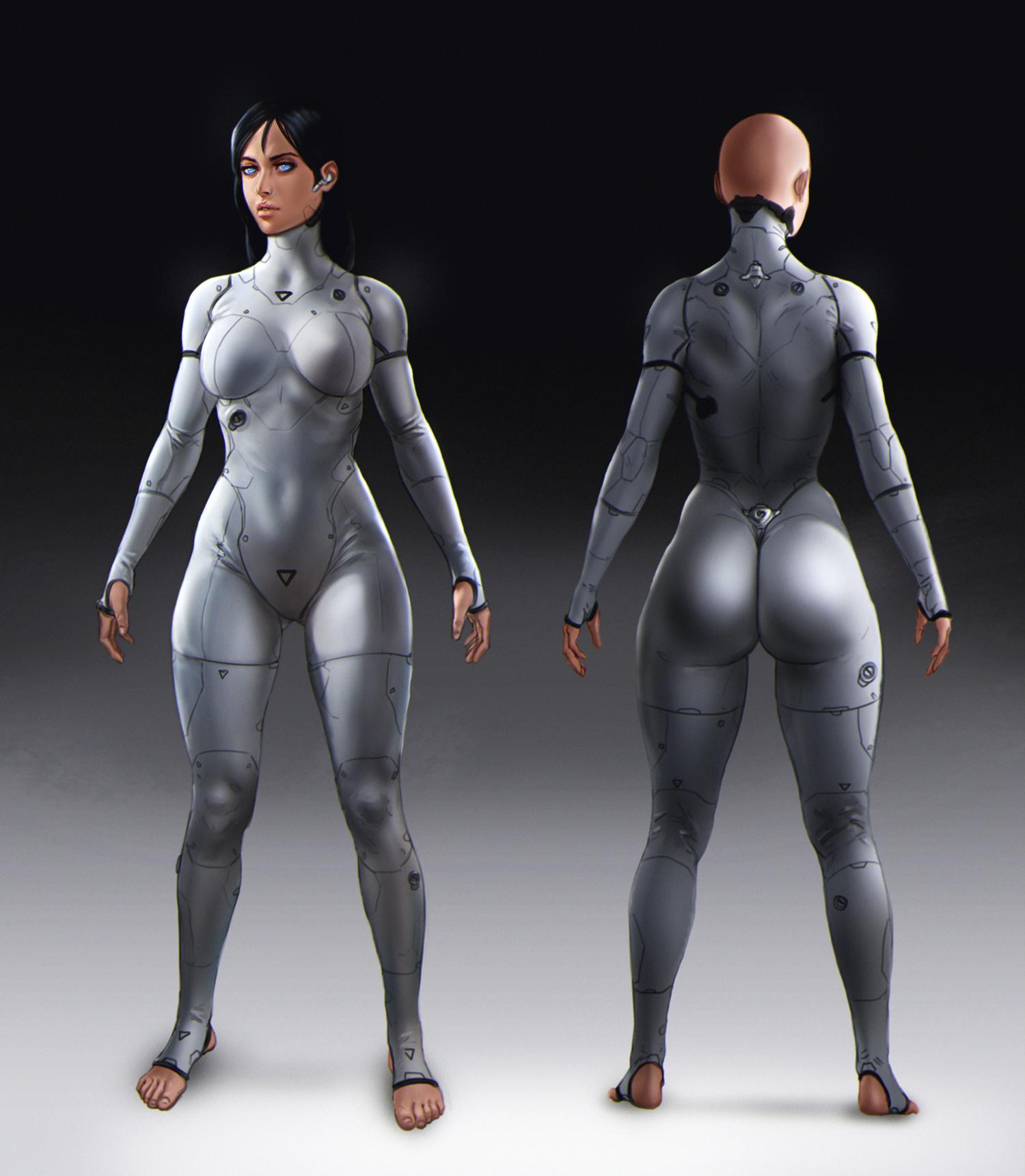 Character/Suit Design