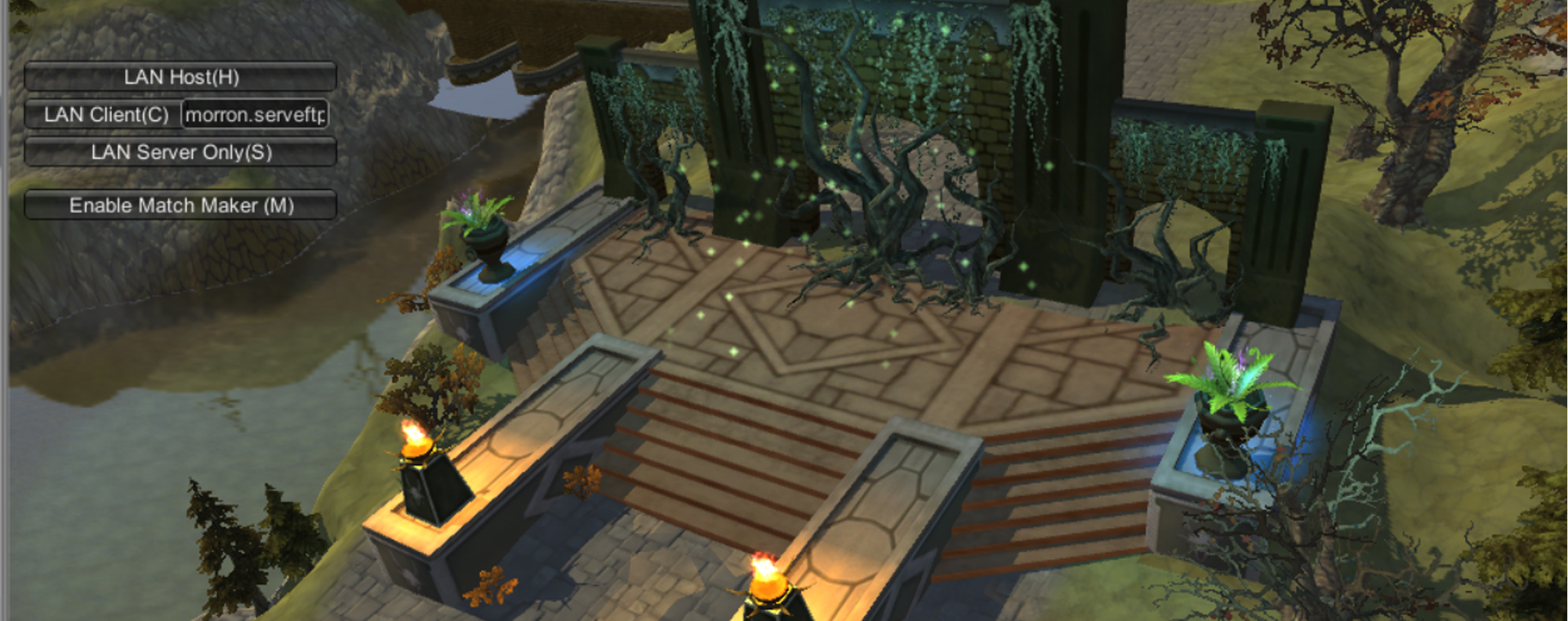 Beat'em up project (map screenshots)