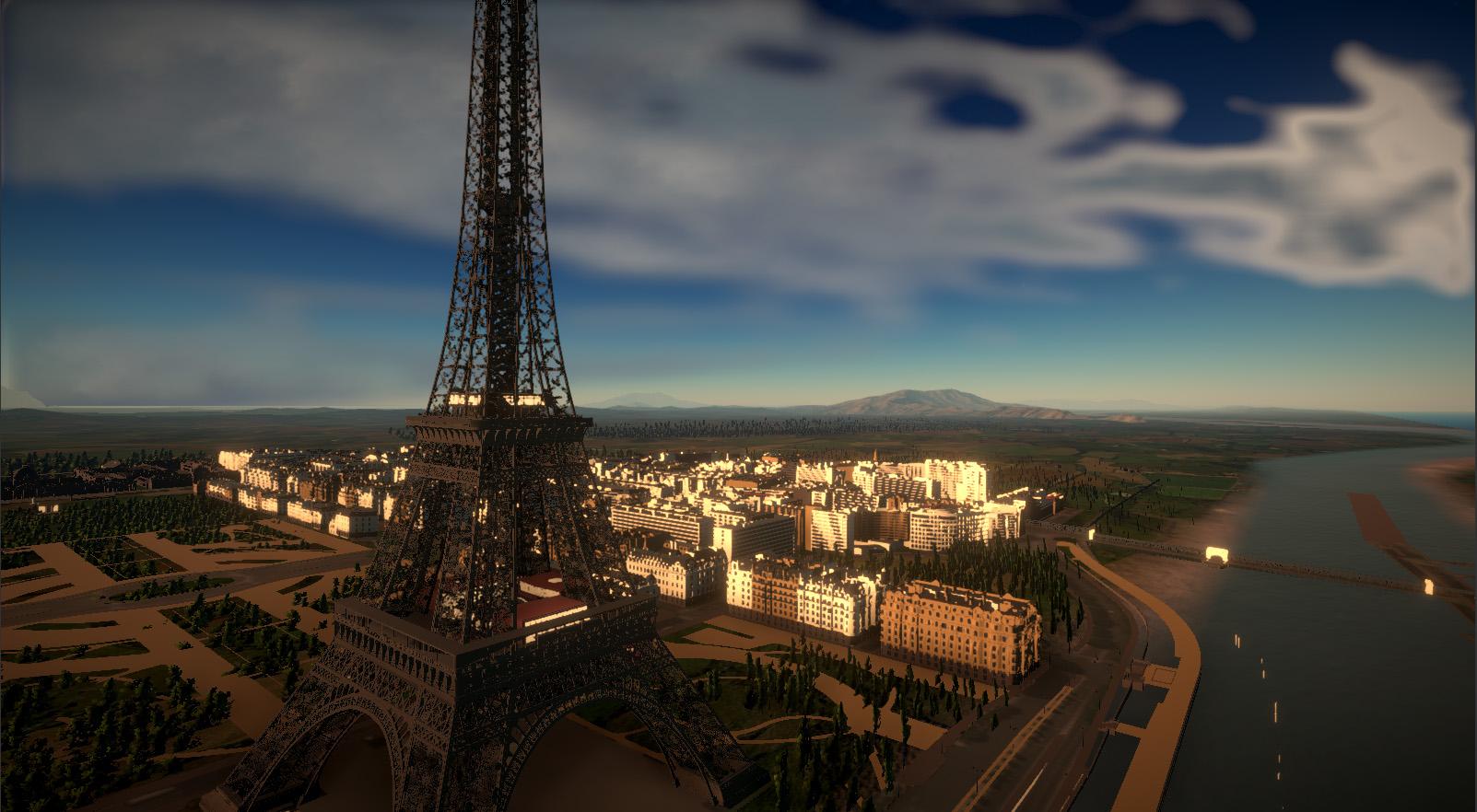 Zeppelin Vista Simulation