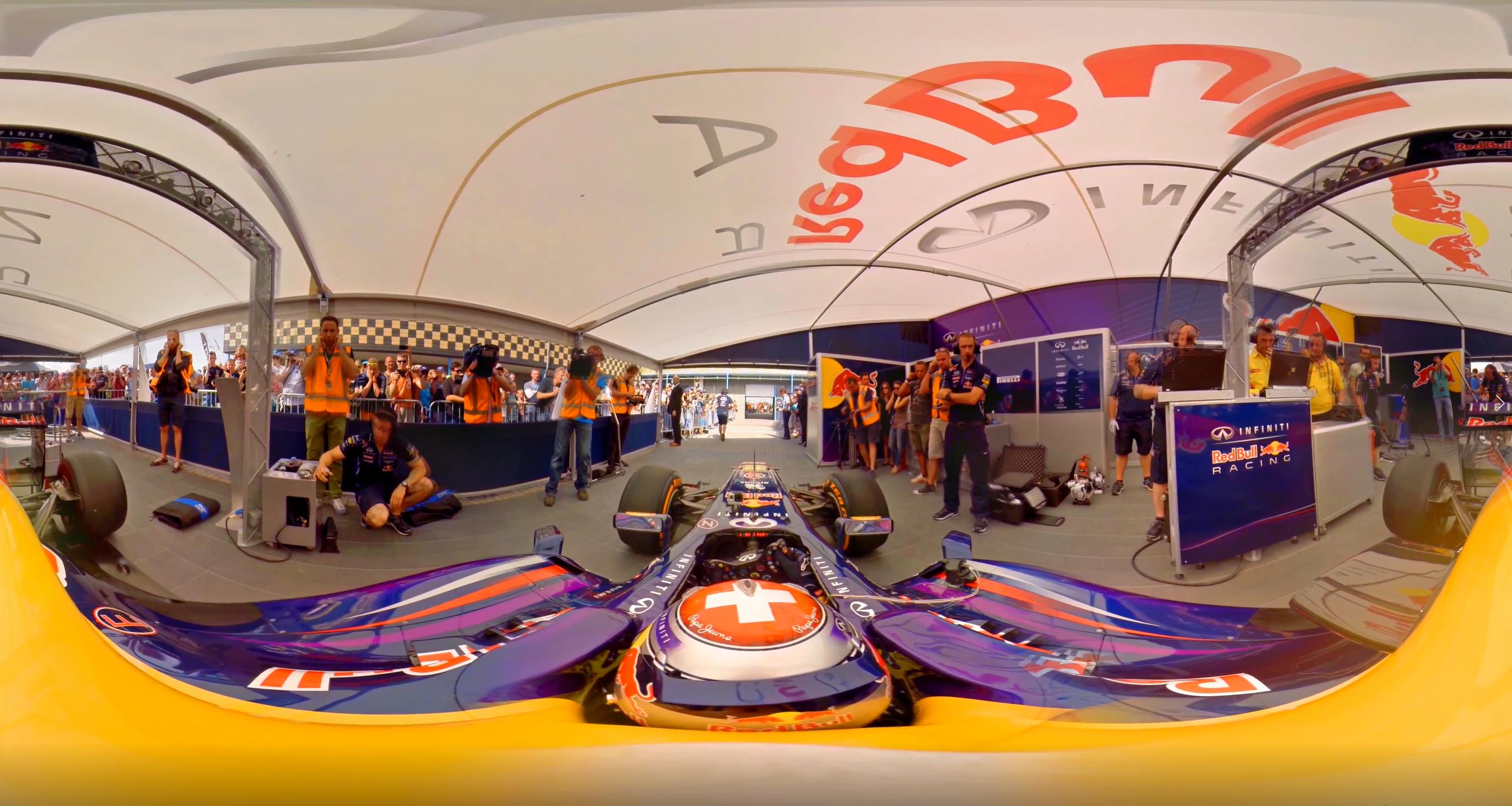 F1 Interactive VR