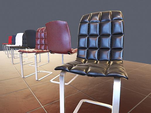 Modern Chair Pack PBR