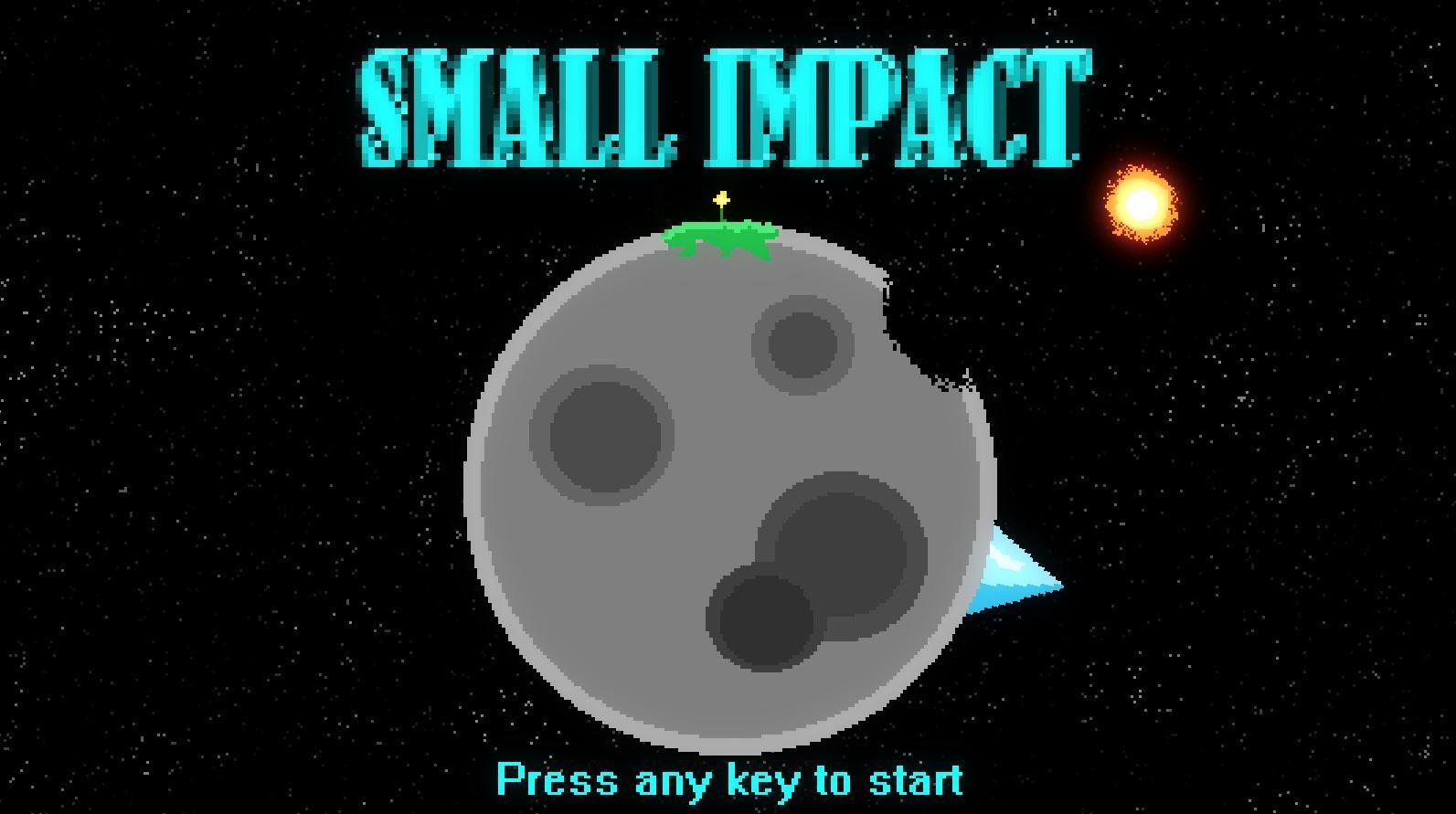 LudumDare 38 : Small Impact