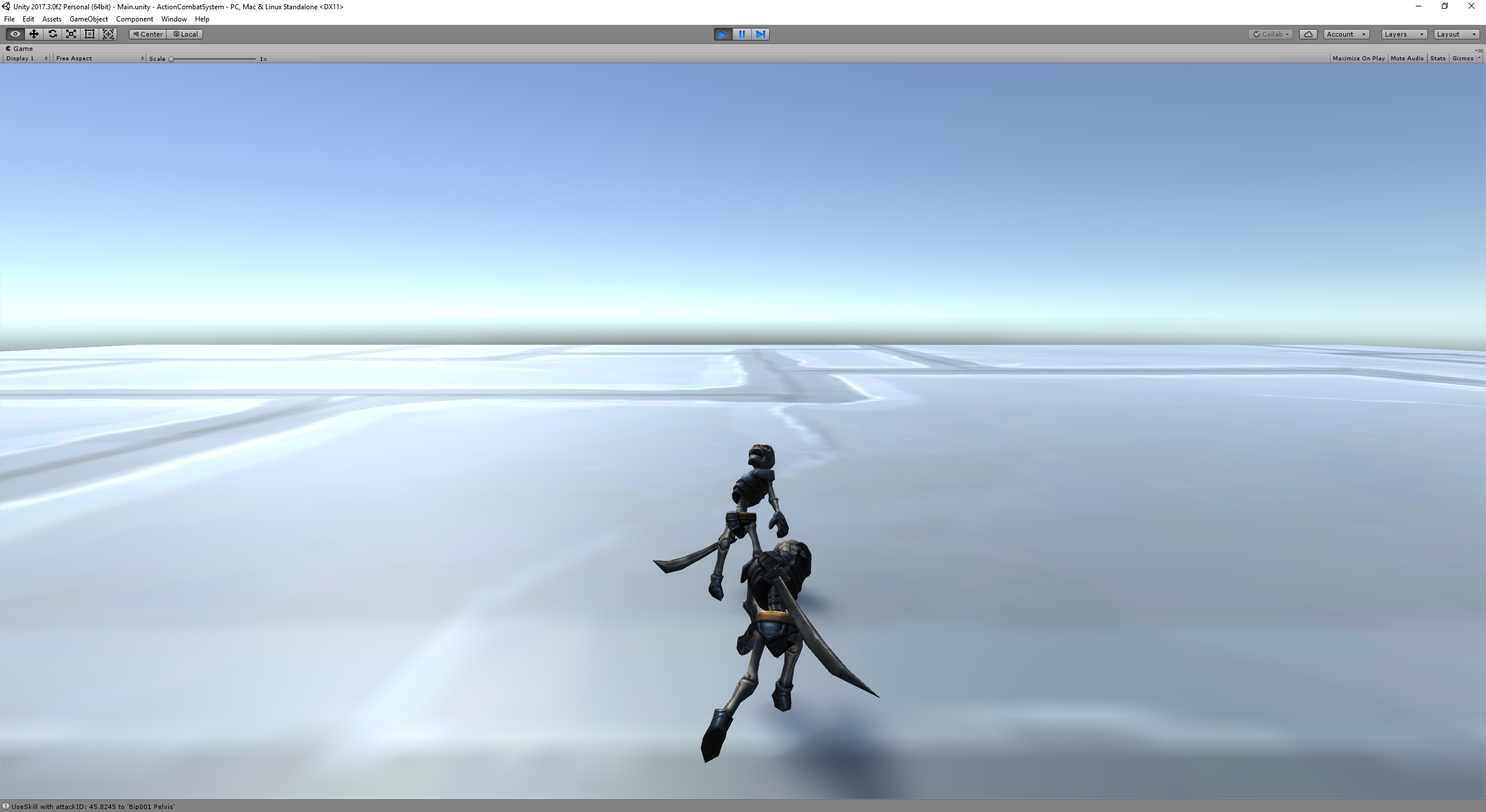 Unity - 3D Melee Action Combat System Prototype