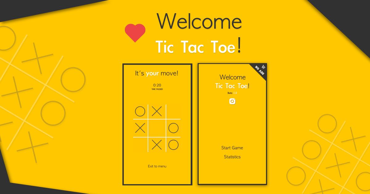 Tic Tac Toe: Template