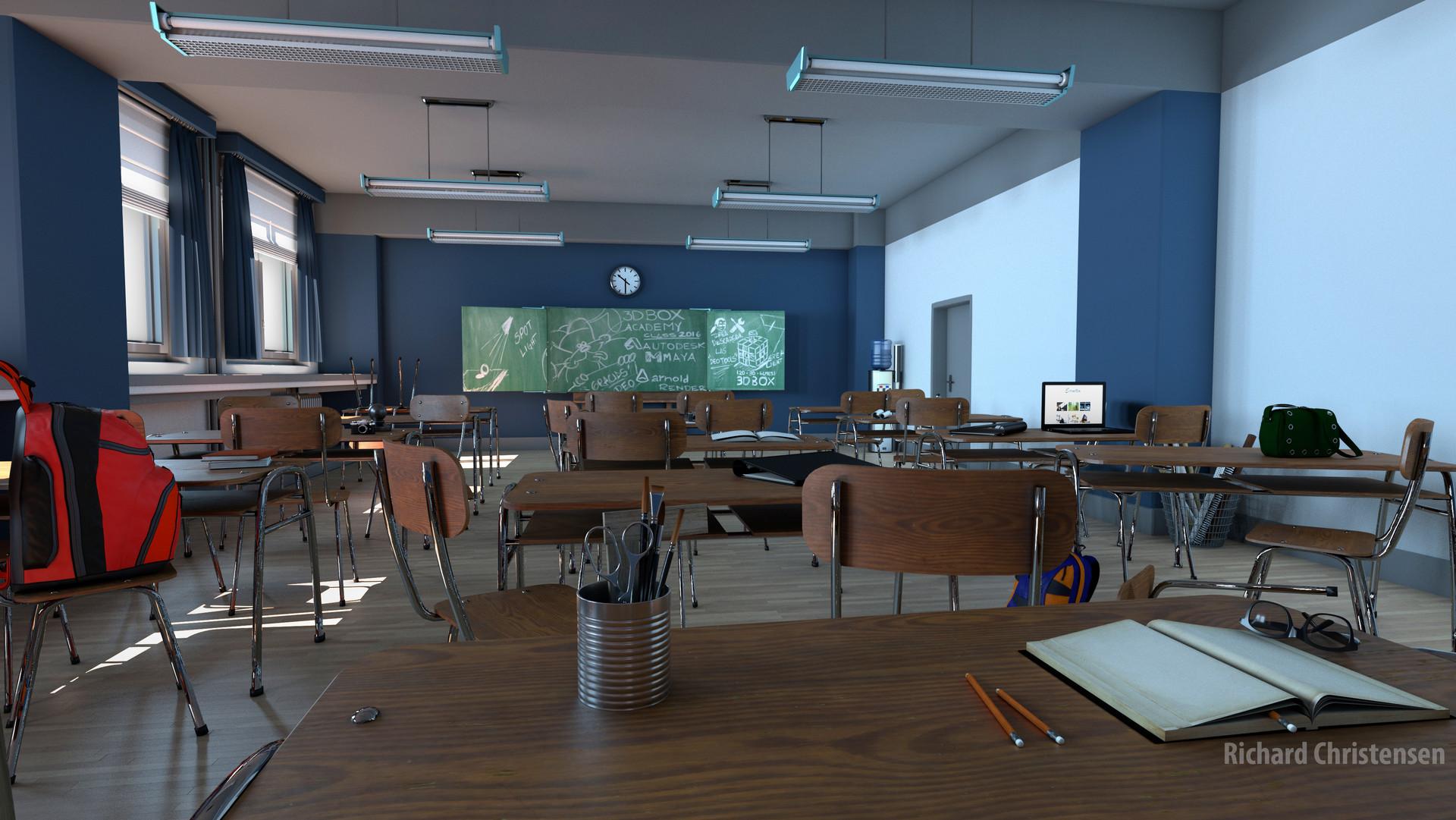 Classroom Pre-Render