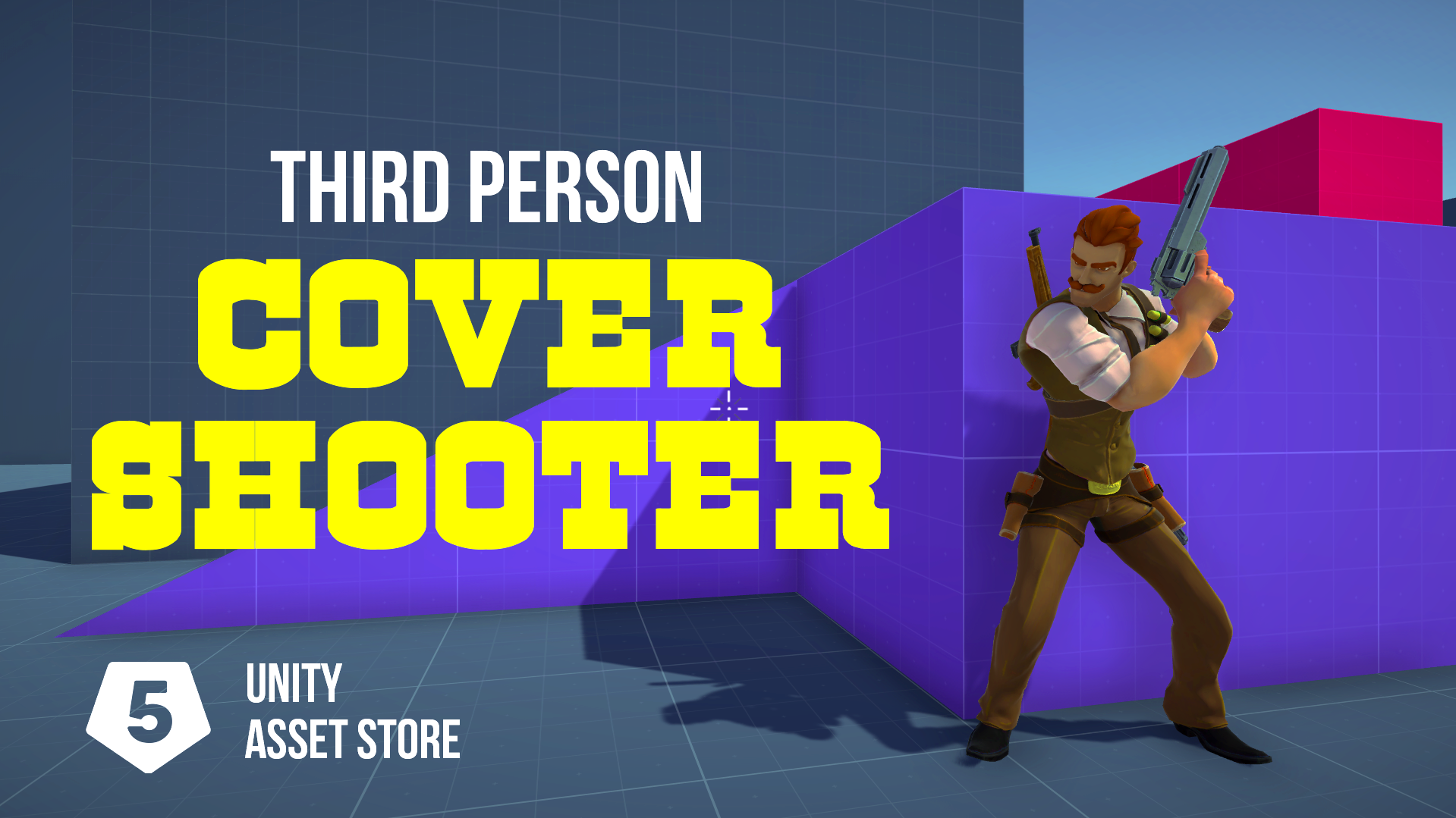 Third person cover shooter