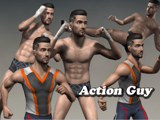 Action Guy character