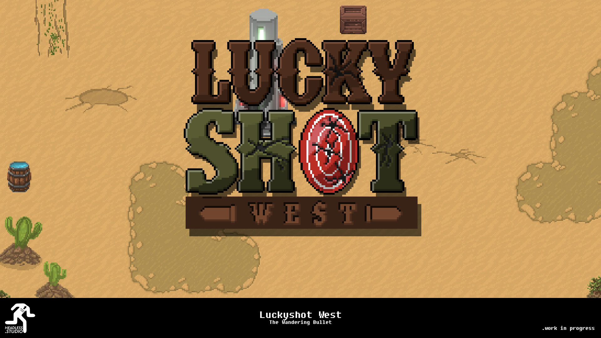 Luckyshot West - The Wandering Bullet