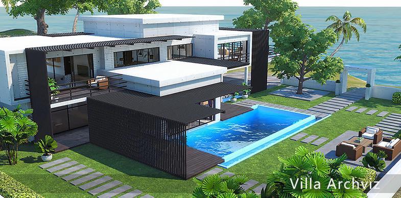 Villa Archviz