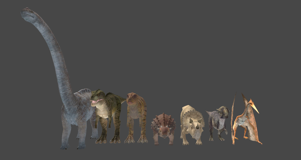 Realistic Dinosaur Pack