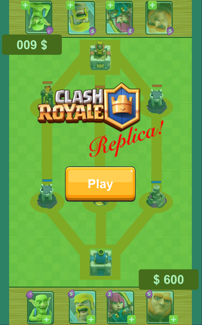 Clash Royale Replica