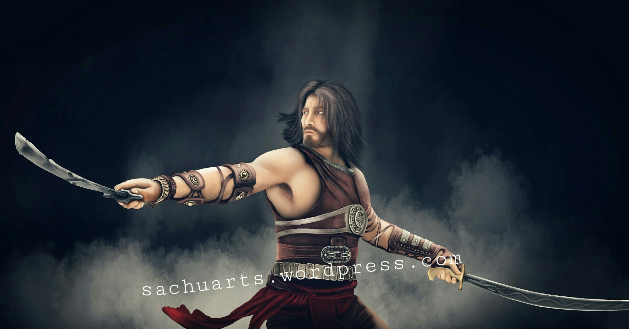 Prince of Persia digital painting