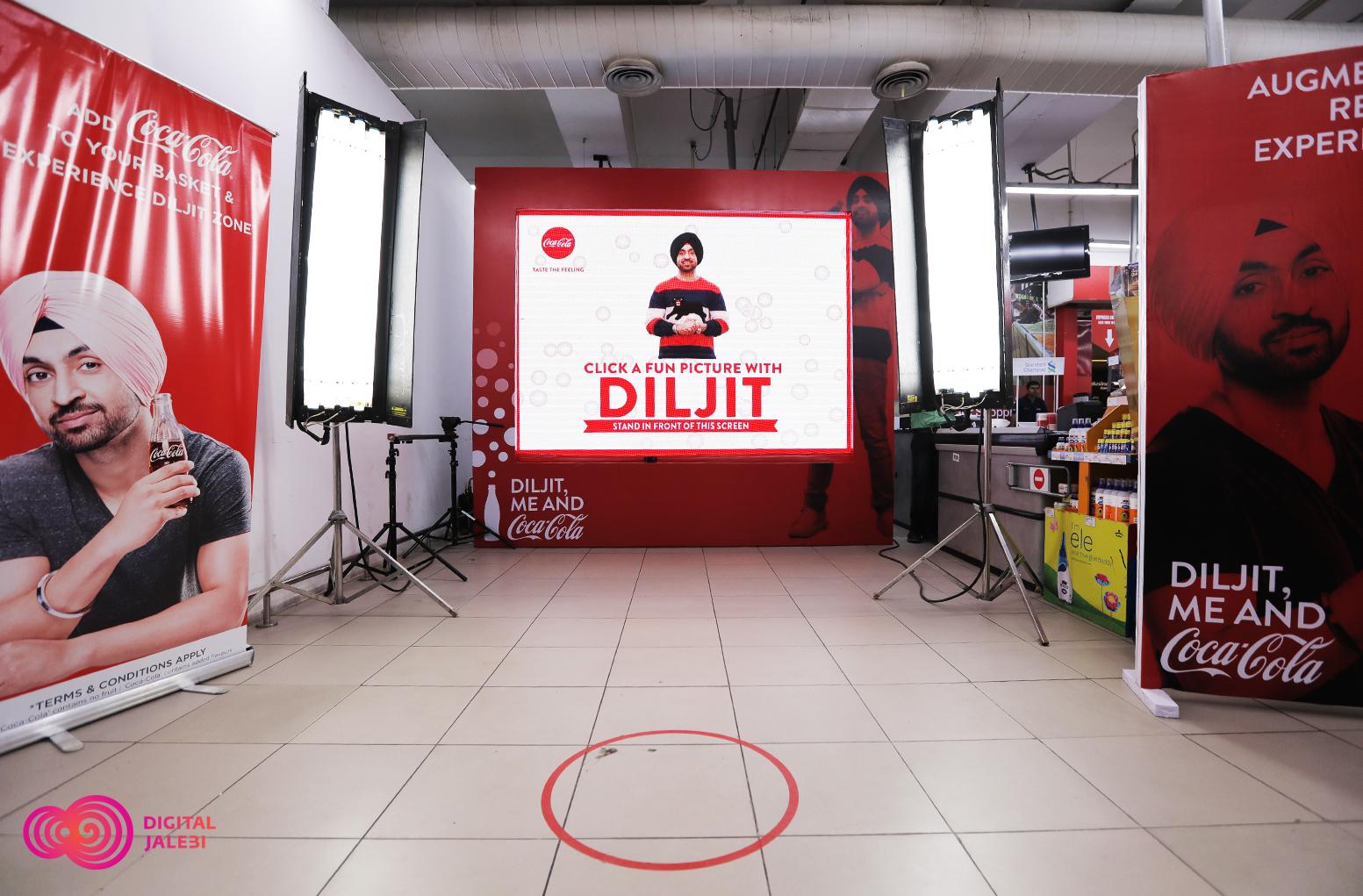 Coke AR Diljit