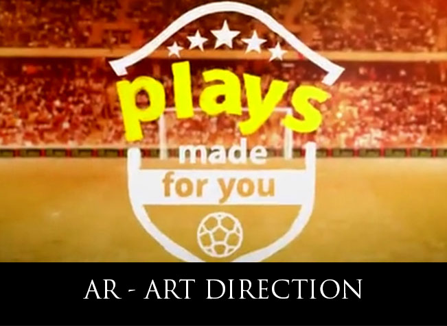 Plays Made for You 2014 World Cup AR App