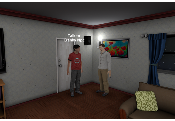 Look and Click Adventure (VR Prototype)