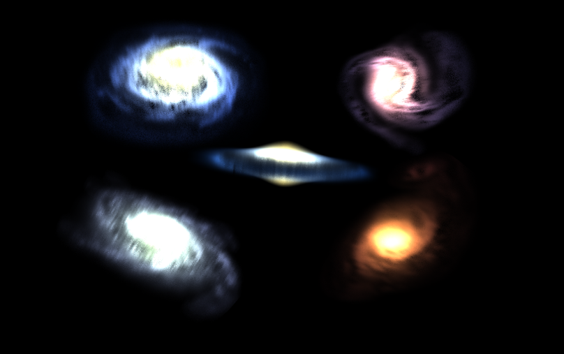 Volumetric Galaxy Pack
