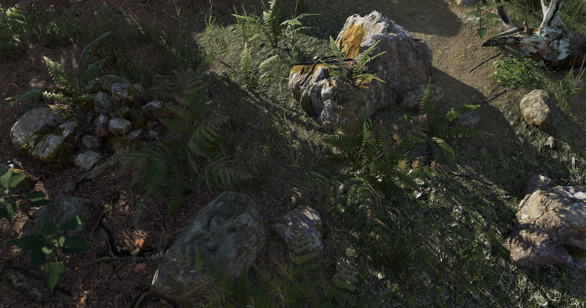 Advanced foliage shaders