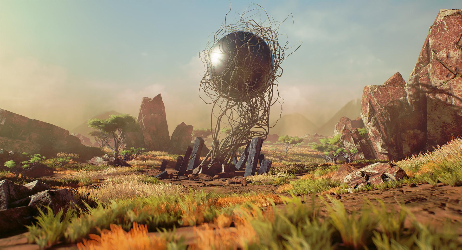 3D African Environment