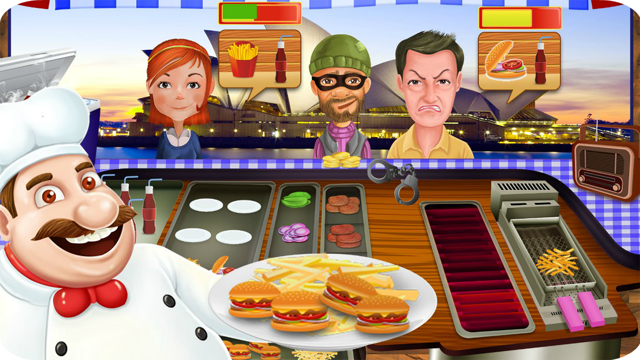 Restaurant Cooking Games - Fast Food Rush