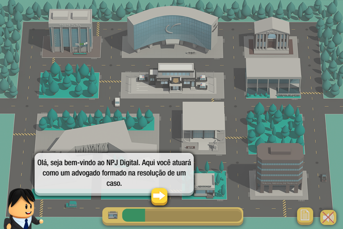 Educational Game For Law Students