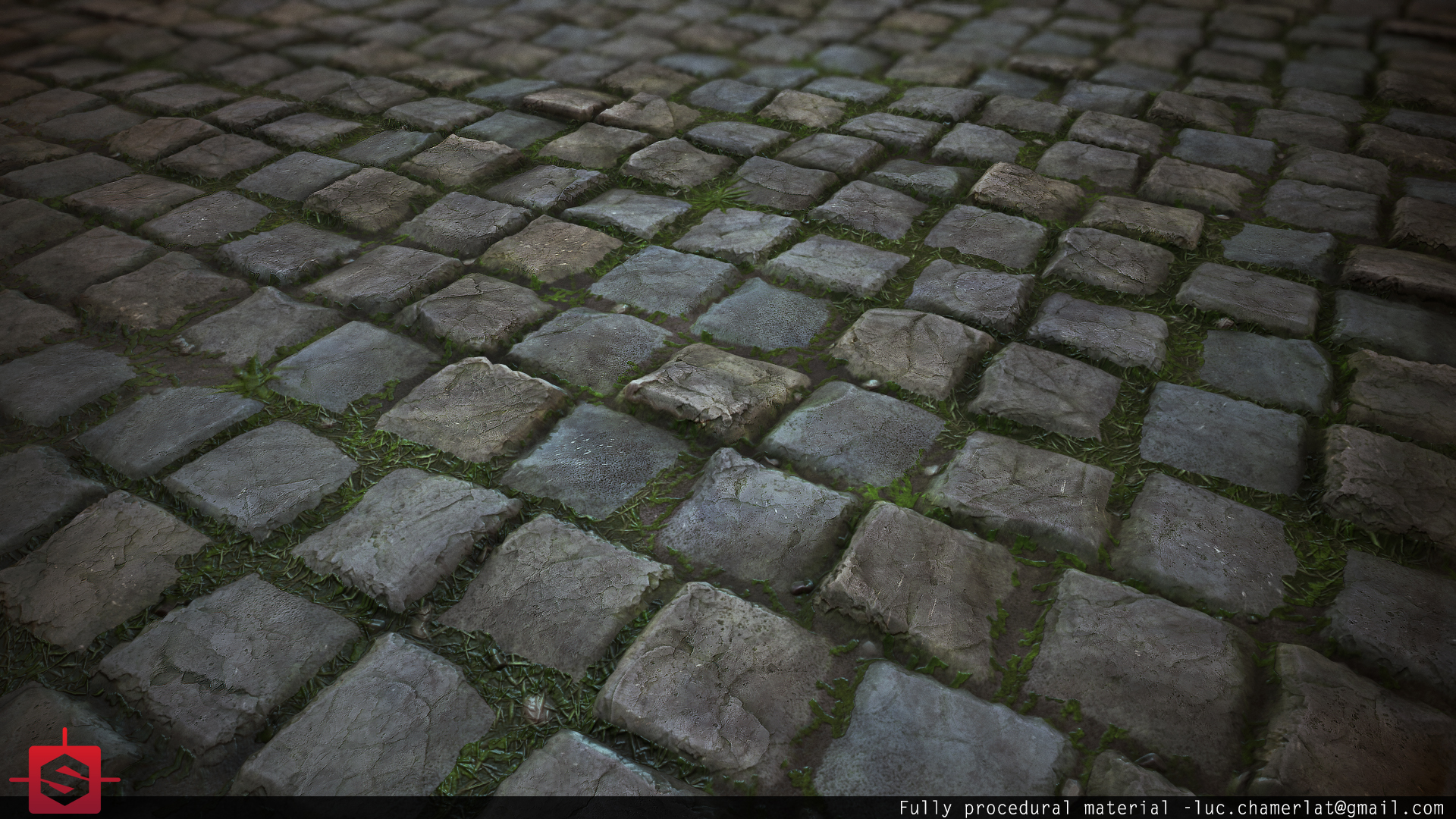 Substance Designer : Fully procedural materials