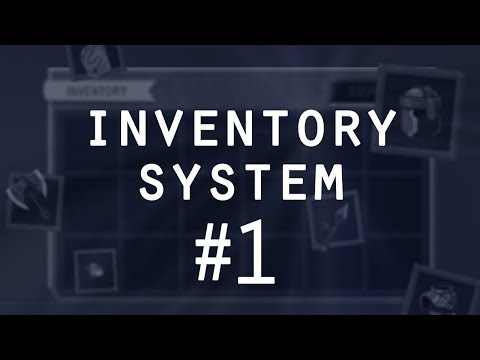 Iventory System tutorial
