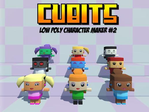 Cubits Character Maker #2 (Female Pack)