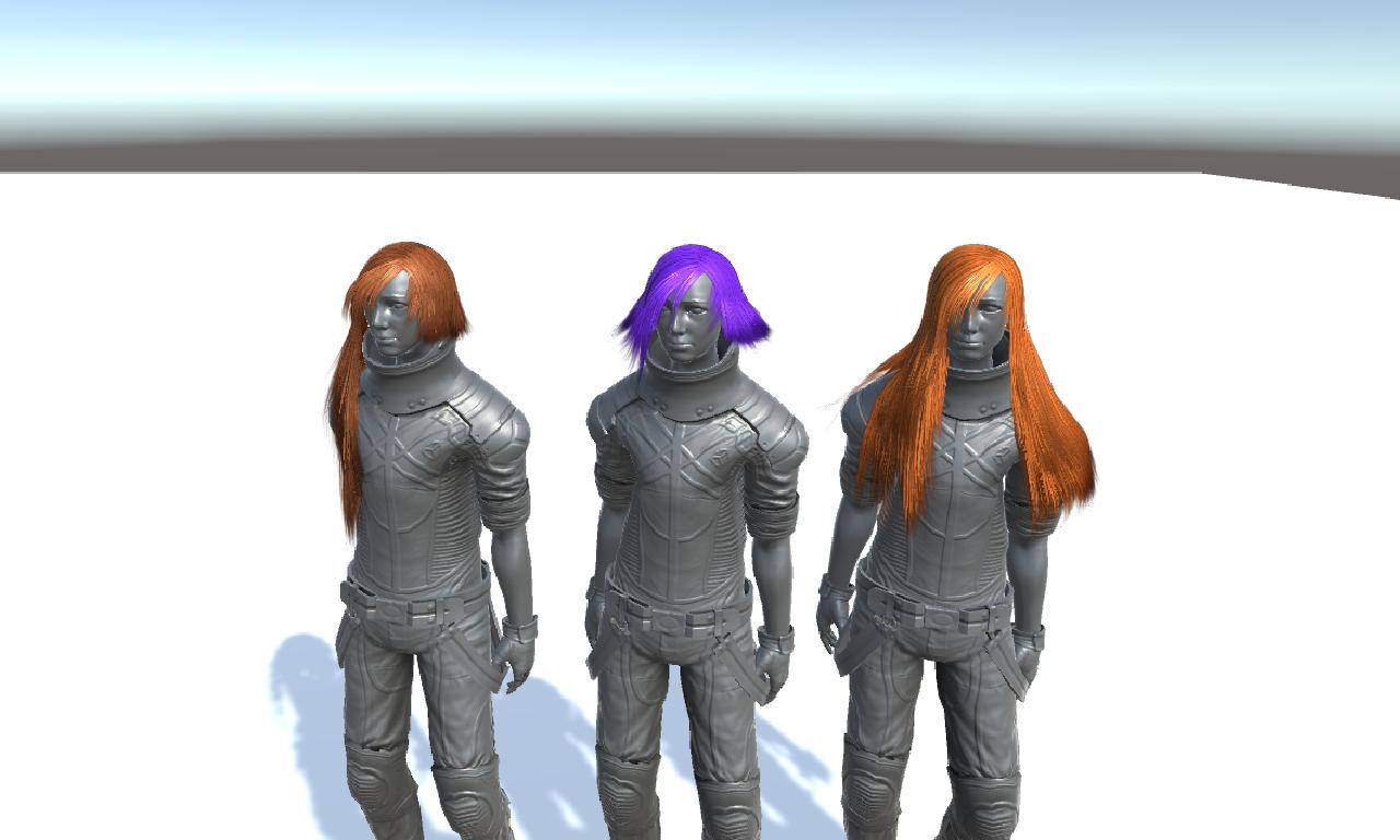 Female hair Volume 2