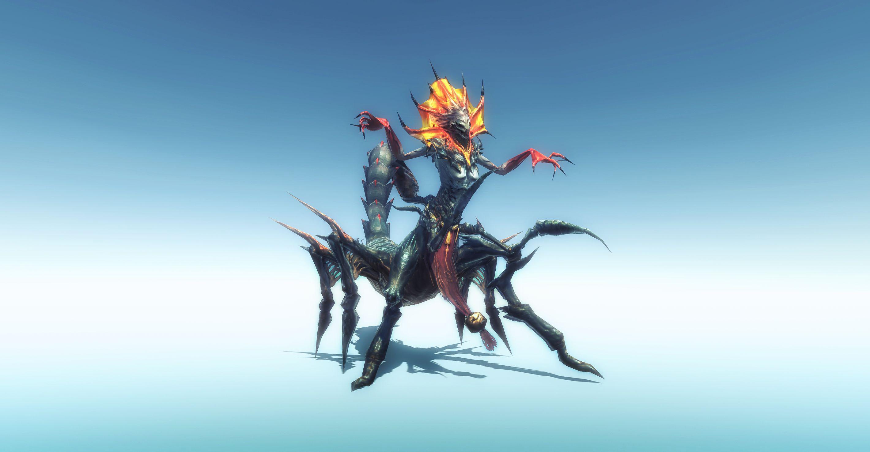 [Asset] Scorpion Queen Monster