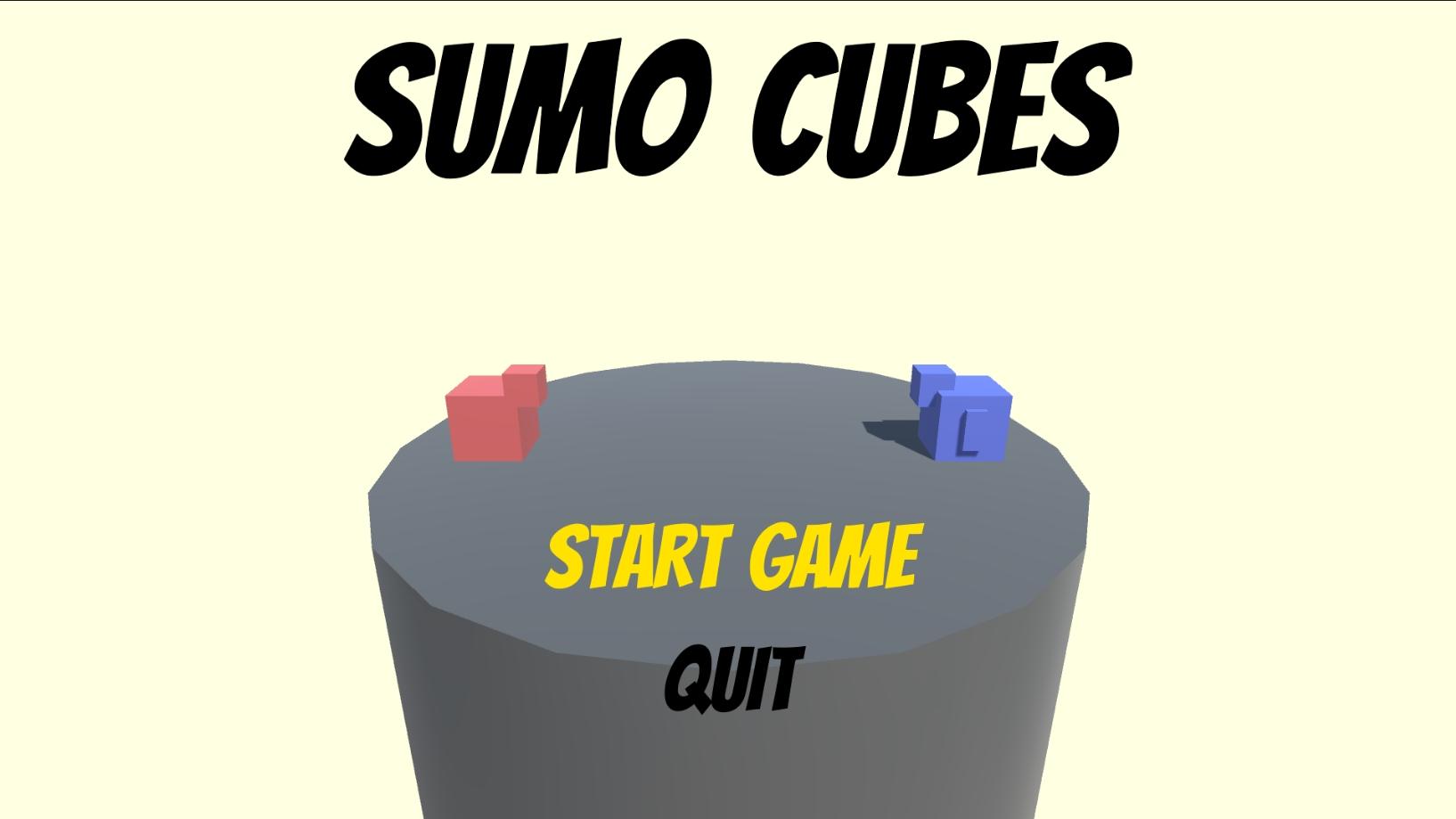 Sumo Cubes