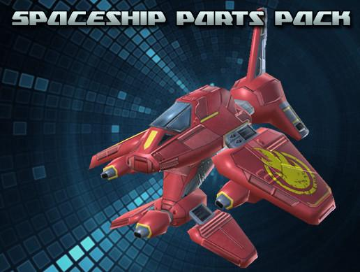 Spaceship Parts Pack