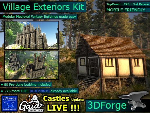 Village Exteriors Kit