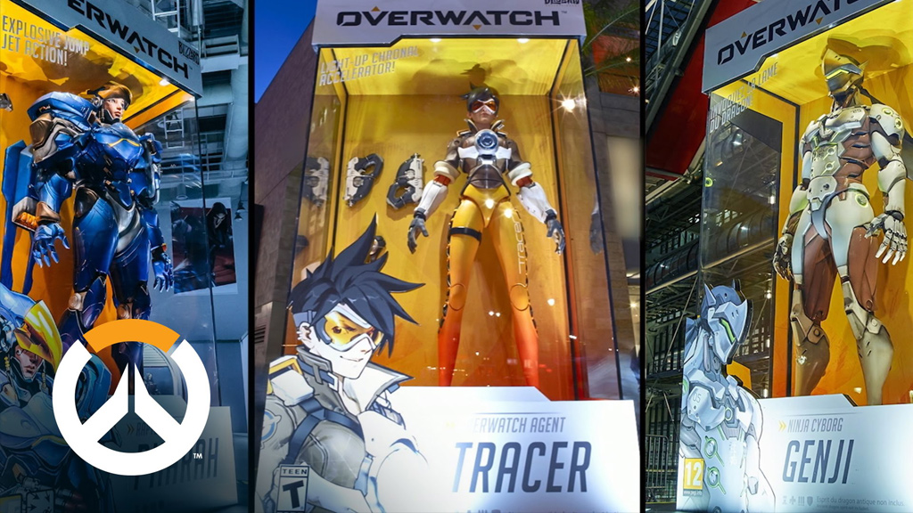 Blizzard Overwatch Promotional Statues