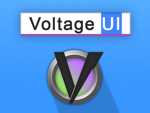 Voltage - Editor UI