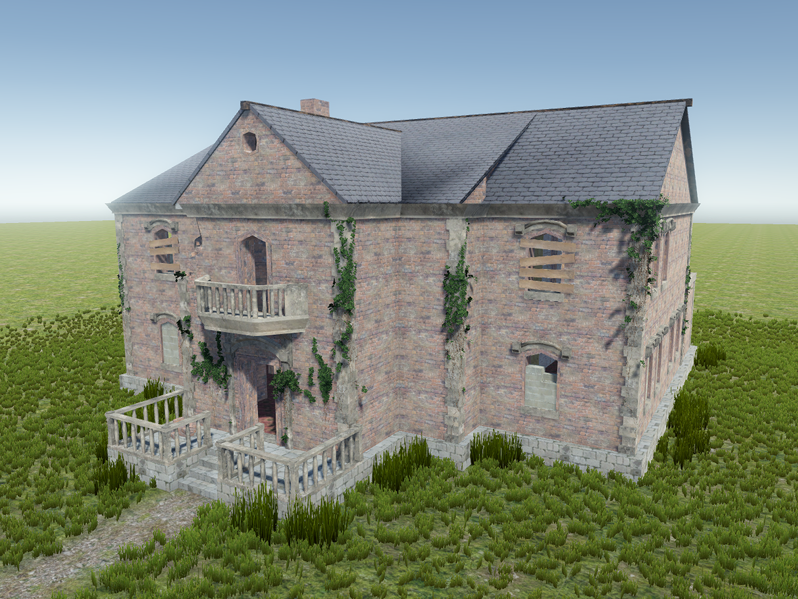 Old building model 2