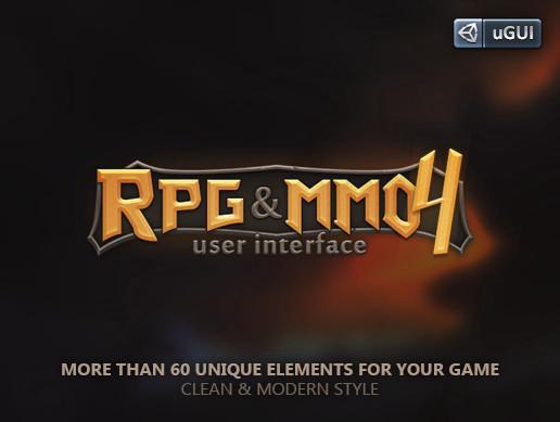 RPG & MMO UI 4 :)