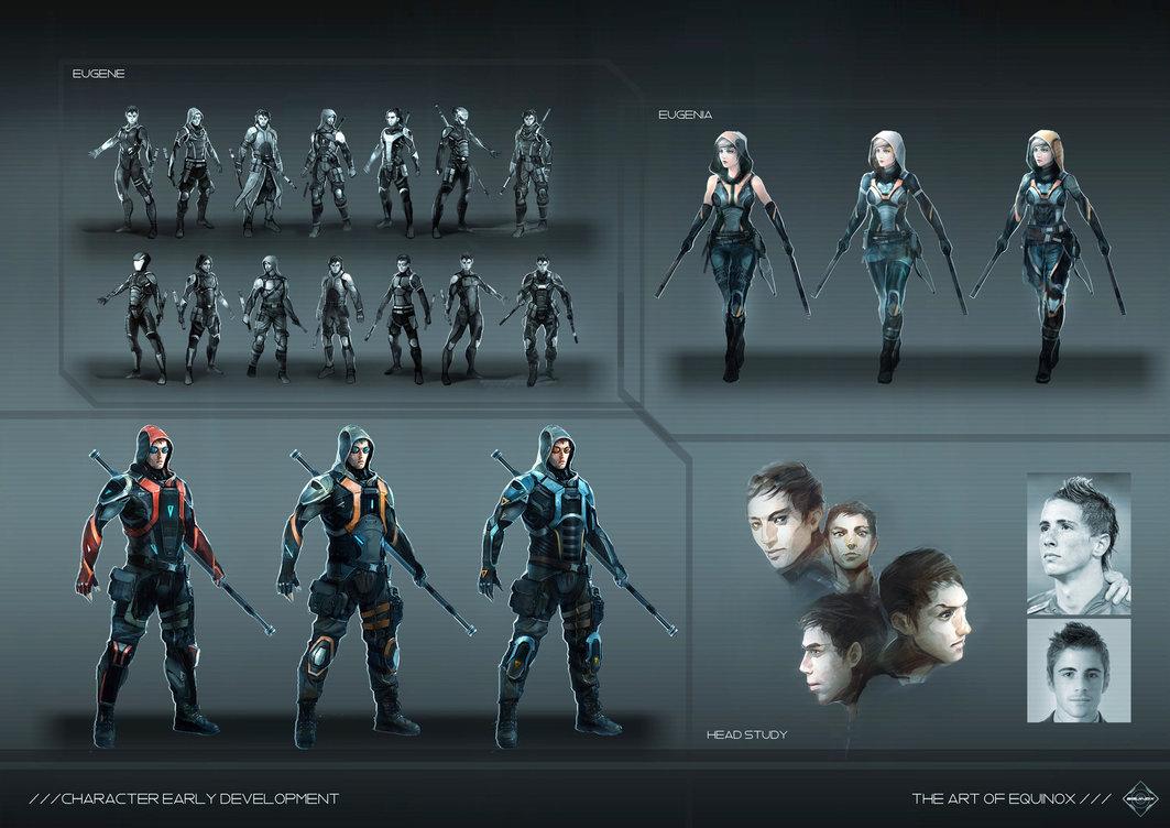 2D Character Concept Art