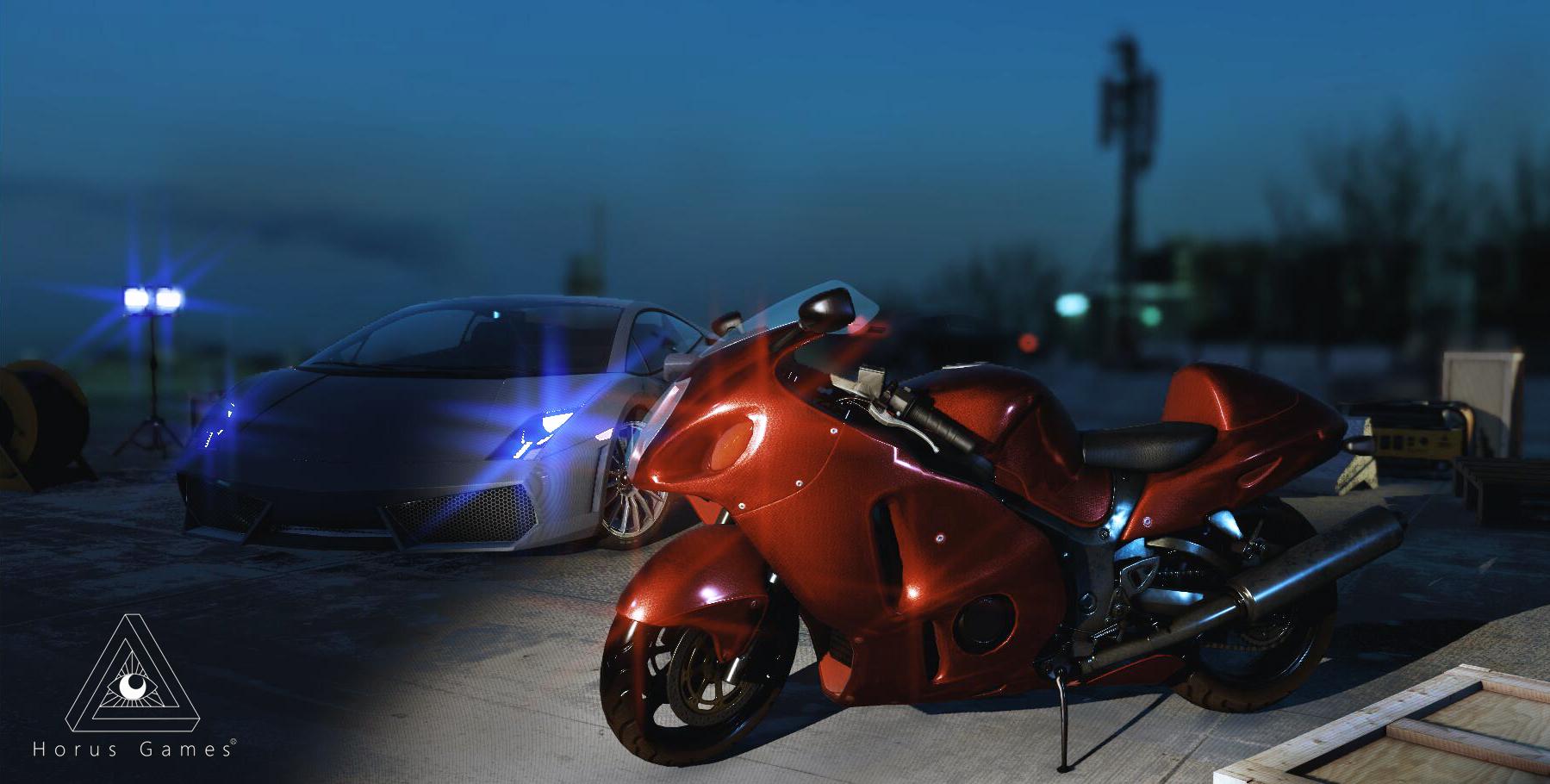 超级跑车VR虚拟驾驶系统