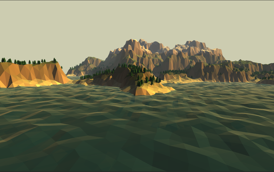 Low Poly Terrain Generator