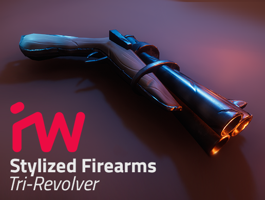 Stylized Weapons - TriRevolver